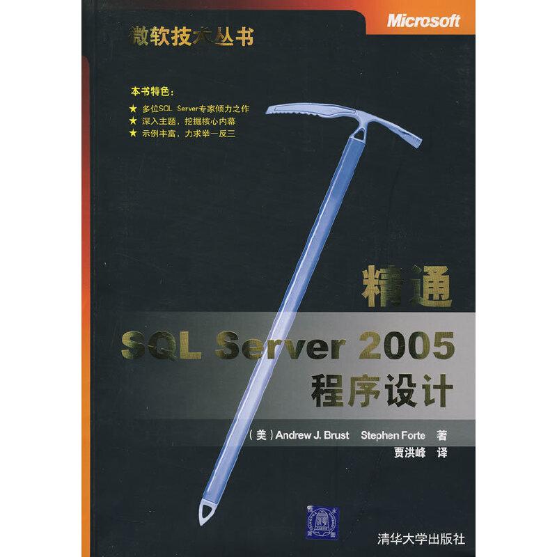 精通SQL Server 2005程序设计 PDF下载