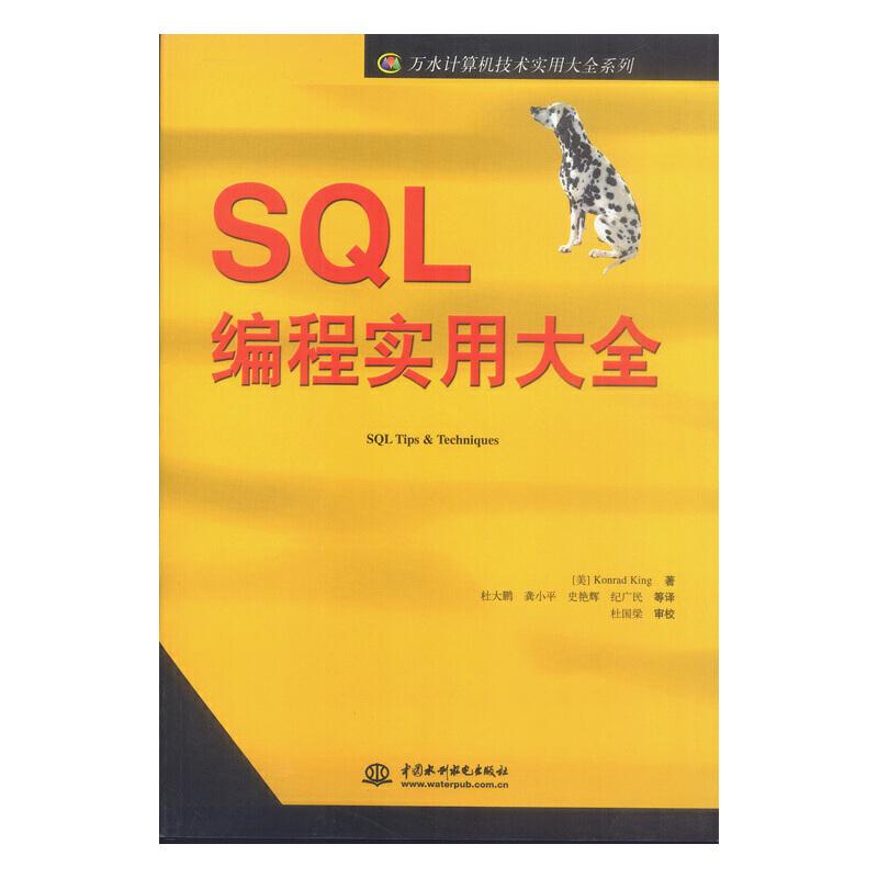 SQL 编程实用大全(万水计算机技术实用大全系列) PDF下载